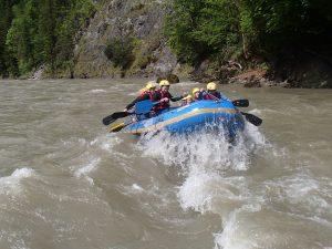 Rafting für Anfänger Salzburg