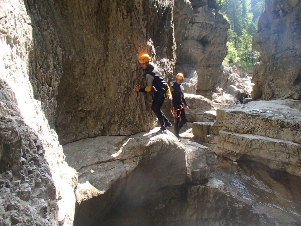 canyoning salzburg