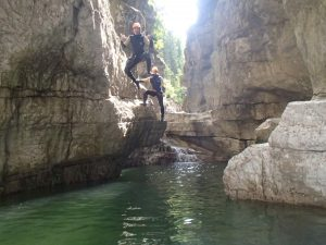 Canyoning in Salzburg