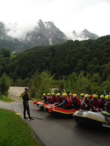 Rafting in Salzburg einstieg in Werfen