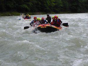 Rafting für Schulen