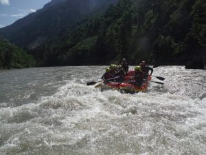 Funrafting Salzach Crocodile Sports