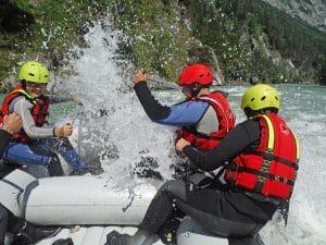 funrafting in salzburg für jung und alt