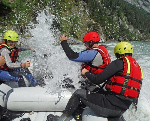 Rafting in salzburg für jung und alt