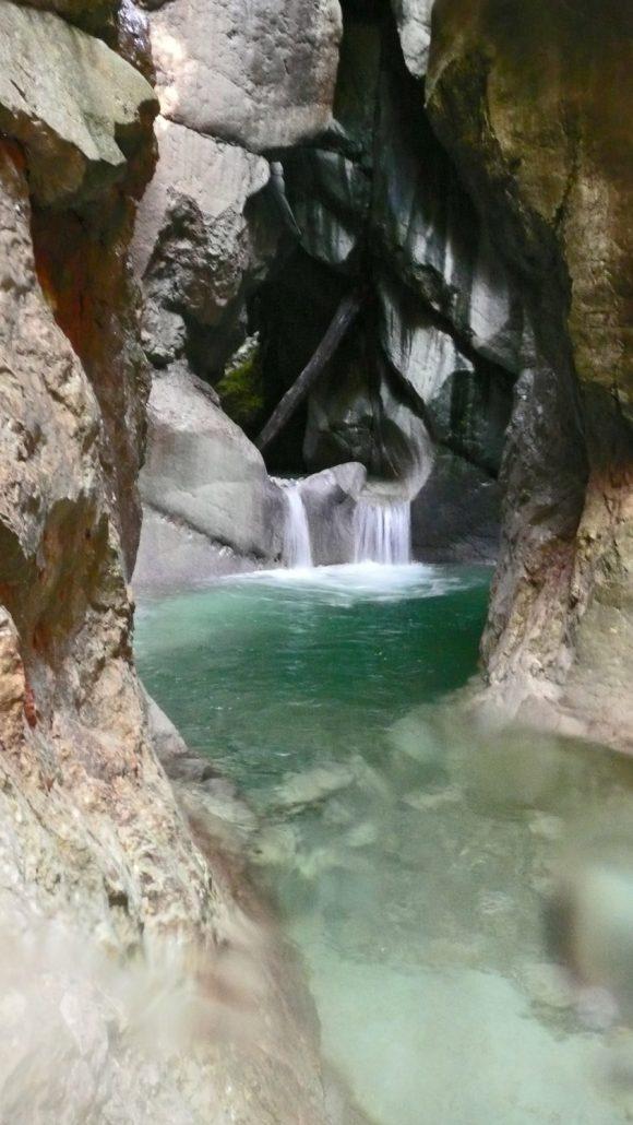 Taugl Canyoning bei Vigaun in Salzburger Land