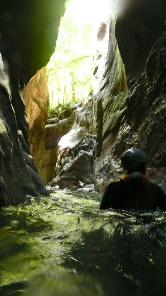 It's Magic - Canyoning am tauglboden in Vigaun bei Salzburg