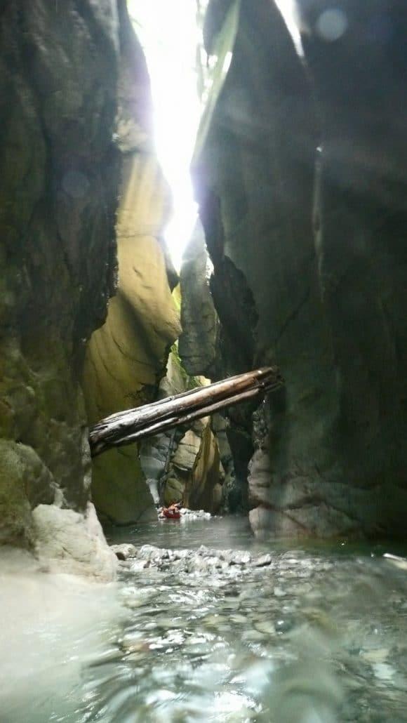 Canyoning am Tauglboden - eine unterirdische Canyoning Tour im salzburger Land