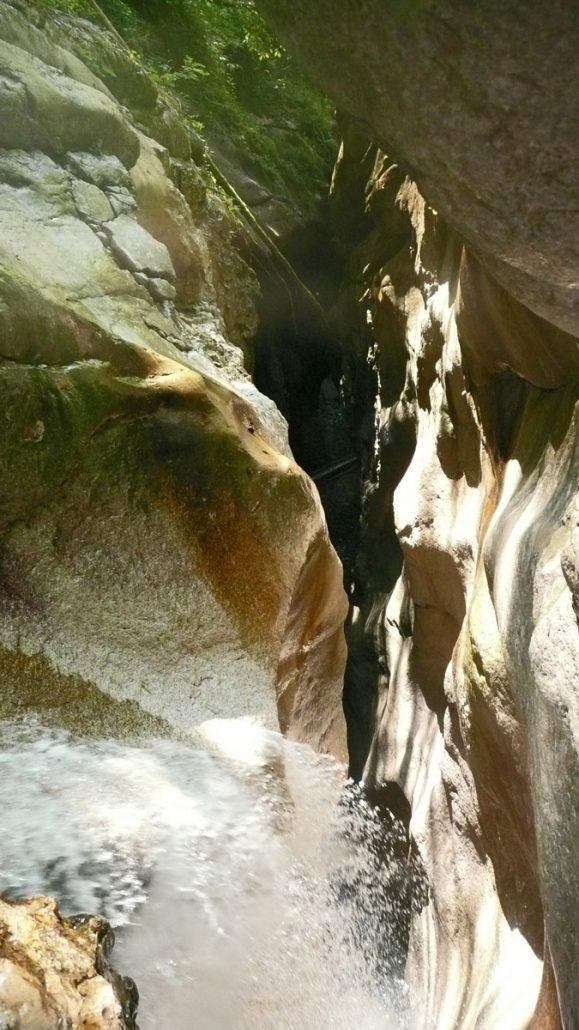 Canyoning am Tauglboden