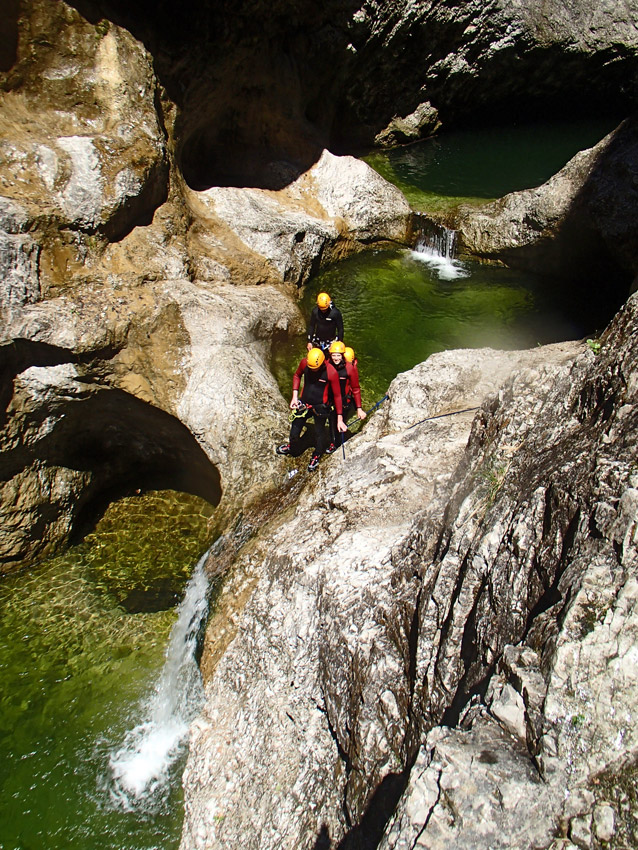 Canyoning tour salzburg