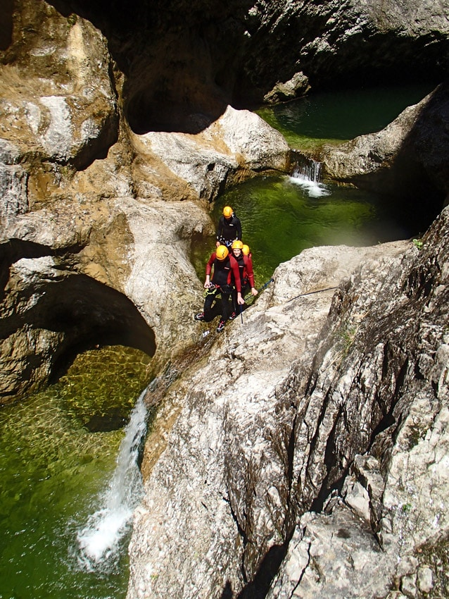 canyoning salzburg - jumpin' jack flash