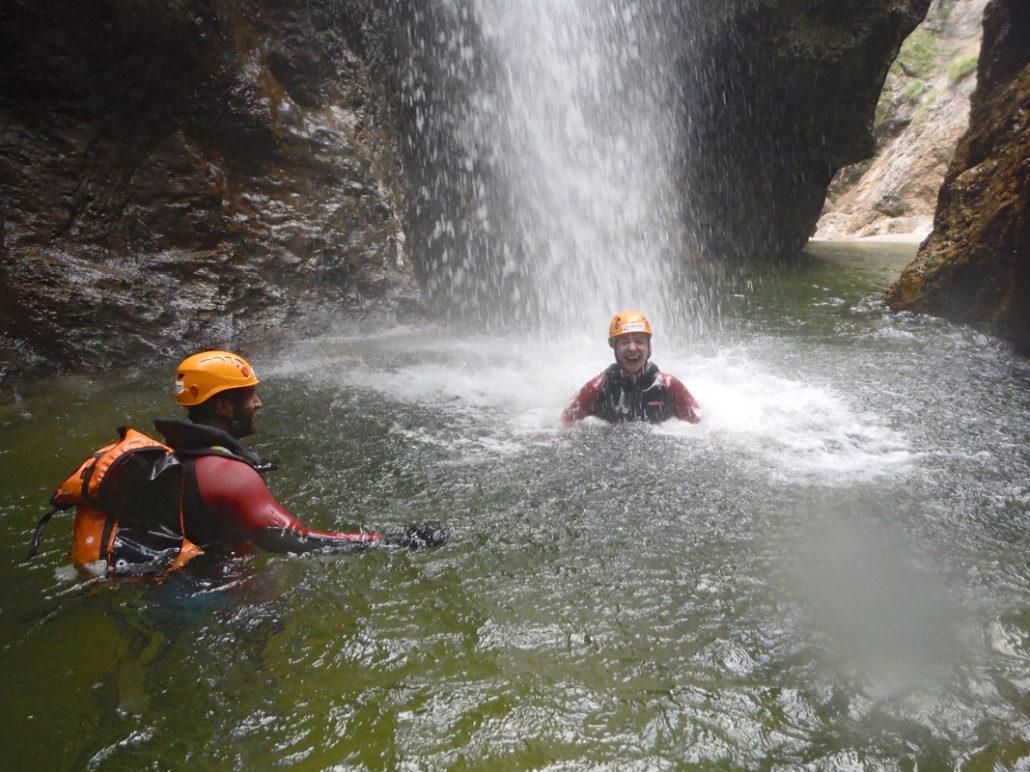 Canyoning mit zertifizierten Guides in Salzburg