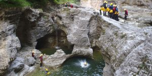 Canyoning Salzburg -Swiss Cheese