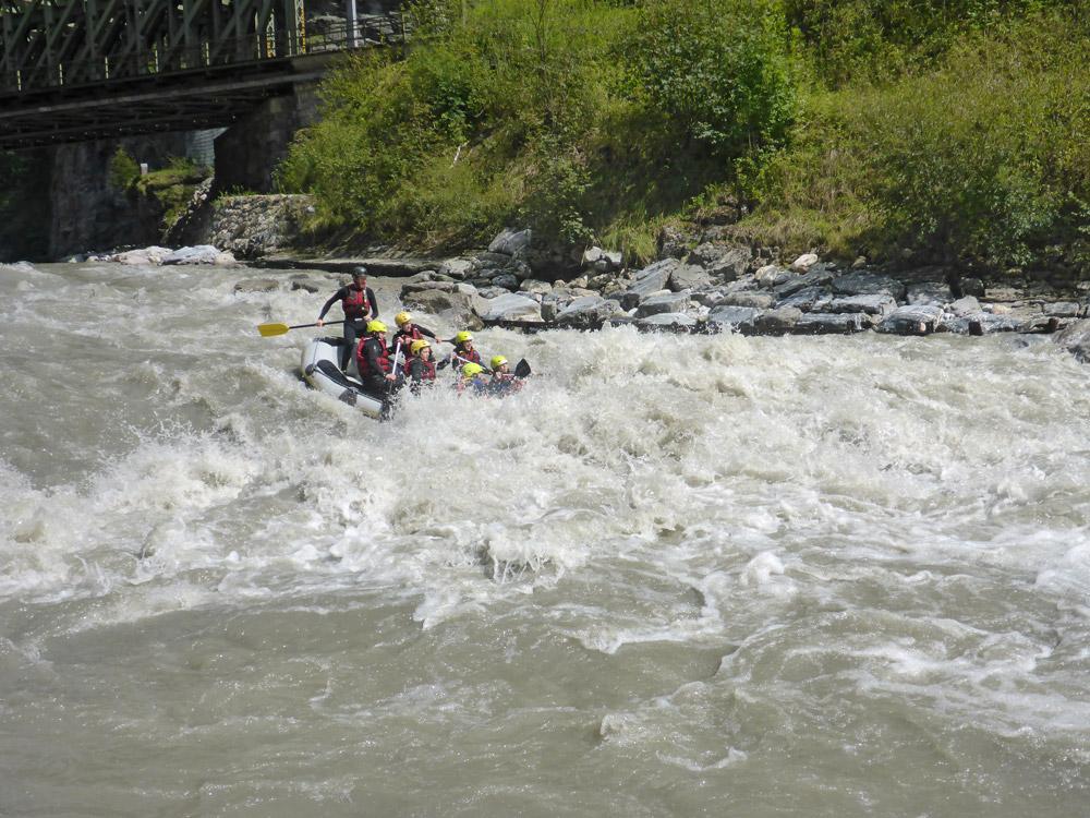 Sport Rafting Salzach bei Taxenbach