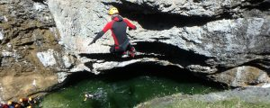 canyoning Salzburg Jumping Jack Flash