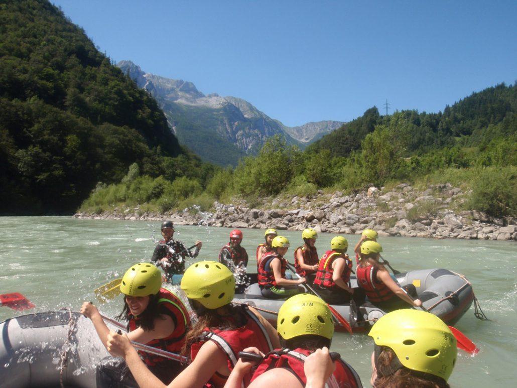 Fun Rafting für Schulen Salzburg