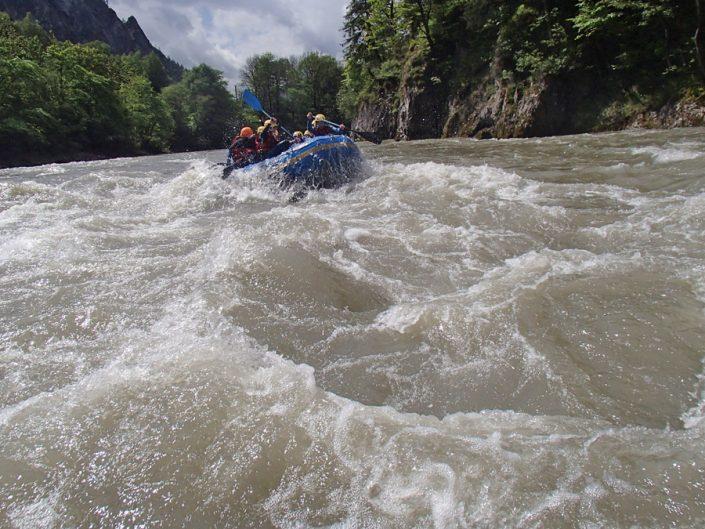 Rafting für Schulen Salzburg