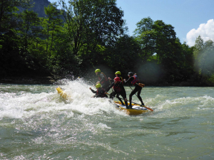 Wild Water SUP Rafting